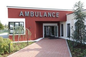 Ambulance vchod